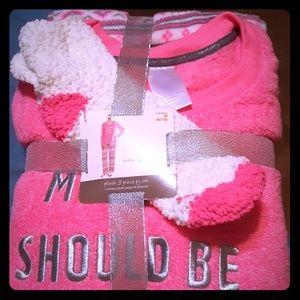 3pc set Ladies sleepwear